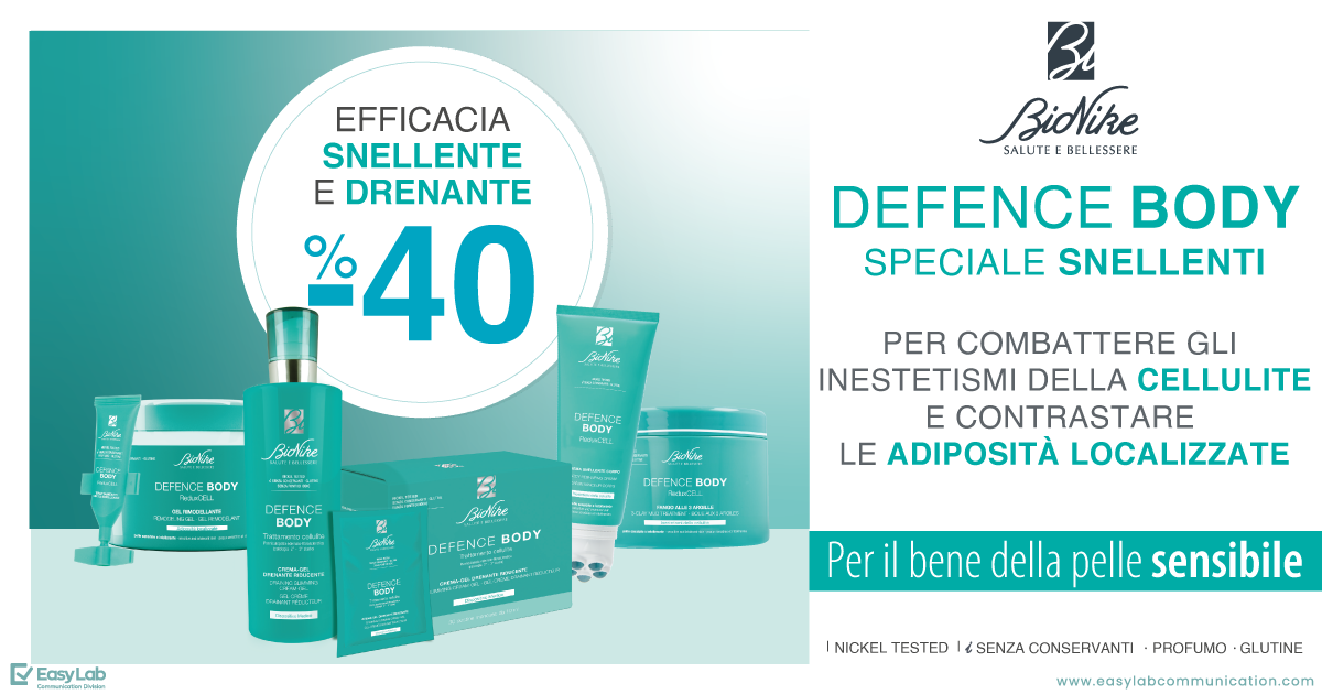 Promo Defence Body BioNike