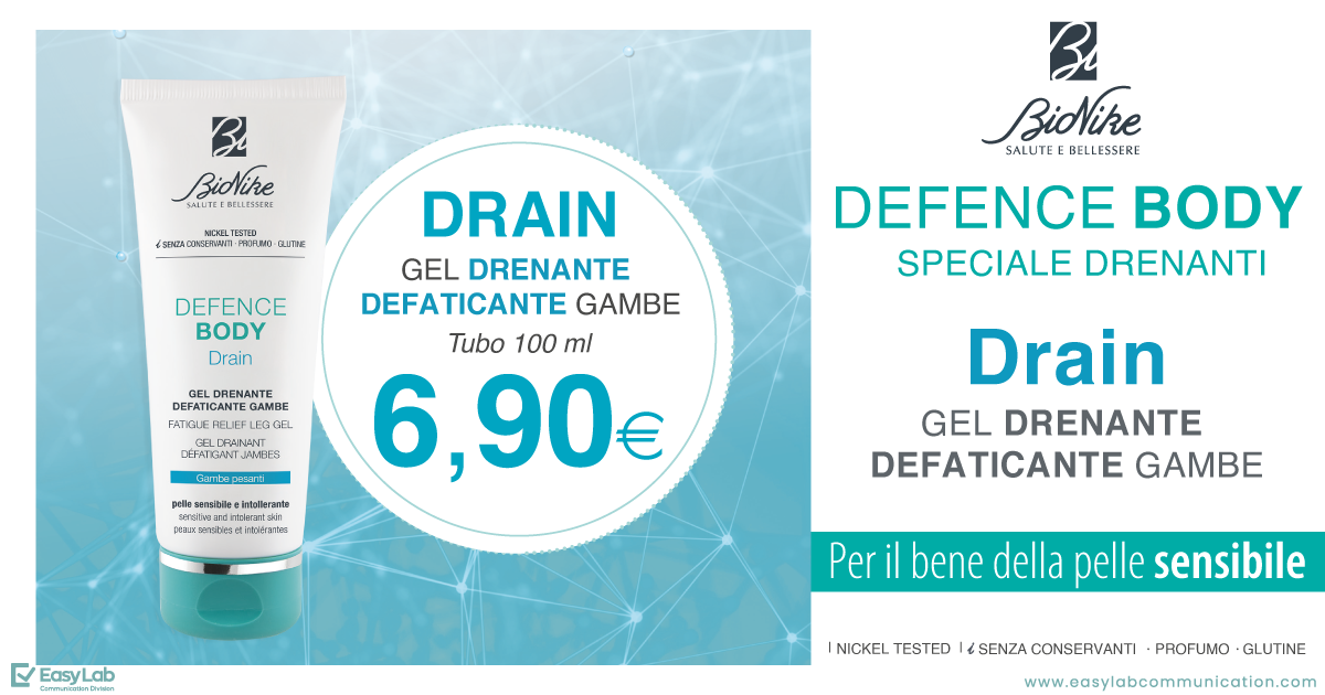 Defence Body Drain BioNike